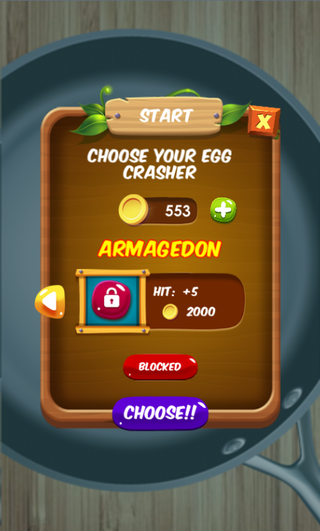 Egg Rush Out - Smash and Crush- screenshot