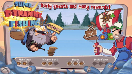 Super Dynamite Fishing FREE screenshot 4