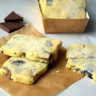 Triple Chocolate Chunk Shortbread.
