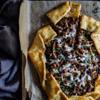 Turkish Lamb Galette.