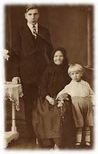 Photo: Franciszek Zubek,Rozalia Zubek,Władysław Zubek -początek lat 30-tych.