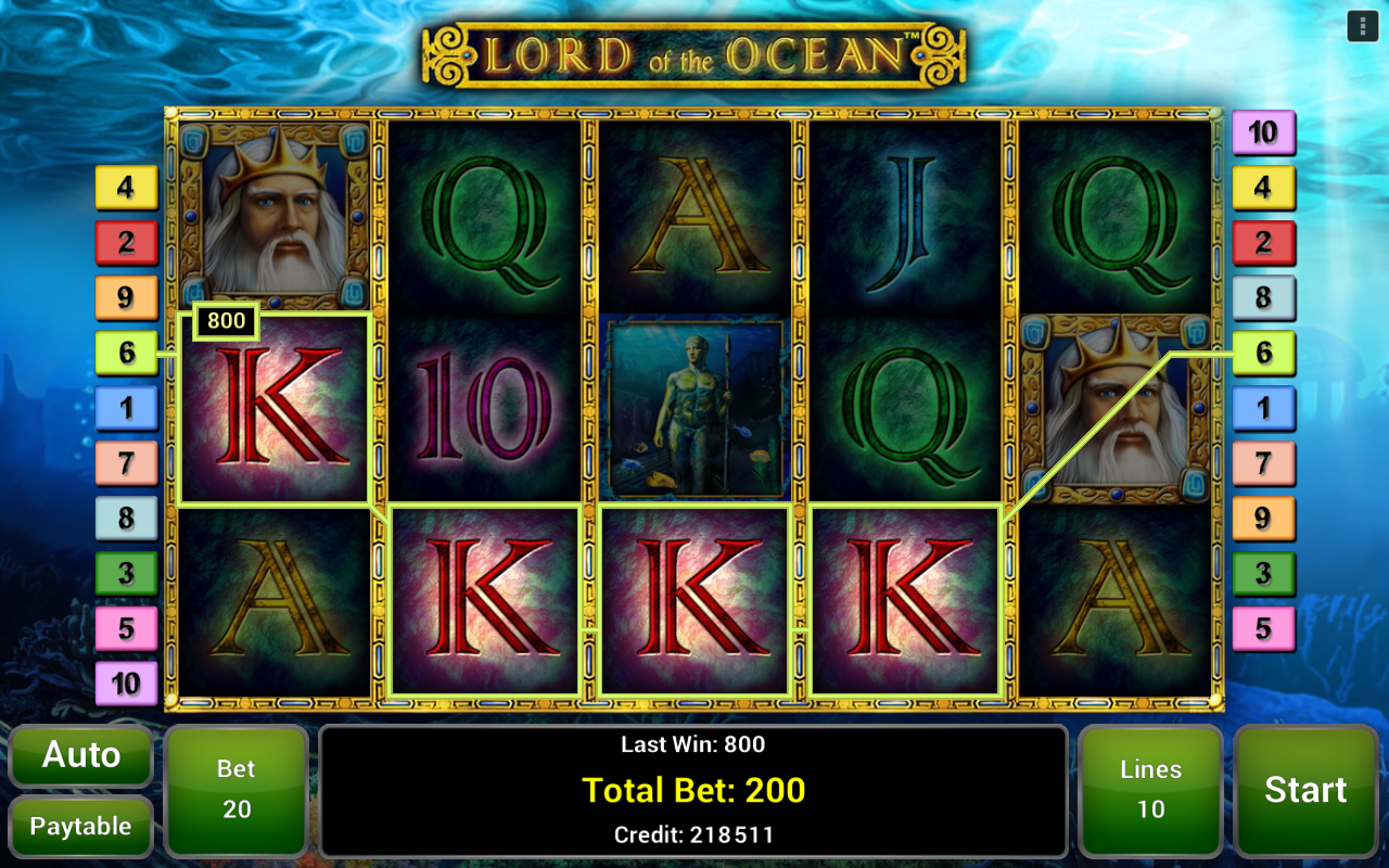 online casino jackpot lord of ocean