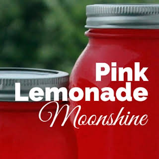 Pink Lemonade Moonshine Cocktail.