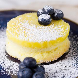 Lemon Soufflé Magic Cakes.
