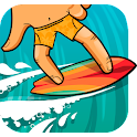 Finger Surfing Track icon