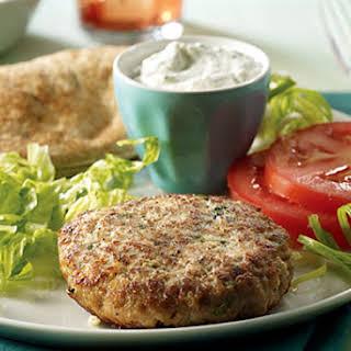 Mediterranean Turkey Burger.