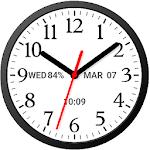Analog Clock Widget Plus Size-7 2.01
