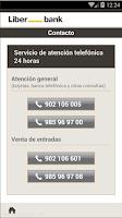 Screenshot of Banca Online Liberbank