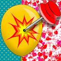 Balloon pop challenge icon