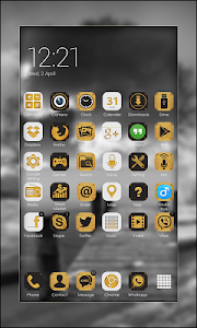 Elegant Launcher Theme FREE screenshot 2