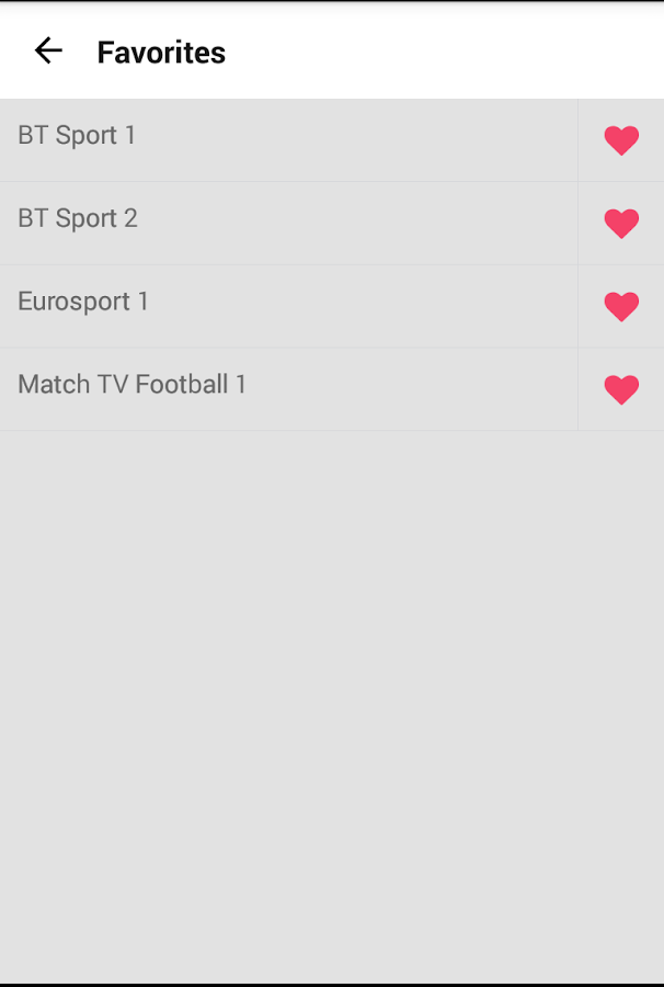 Bive TV - Channel List, Free & P2P TV- screenshot