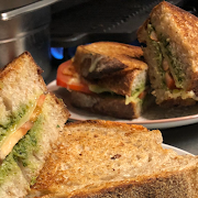 Sourdough Grilled Cheese with Coriander Chutney