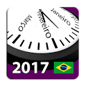 Brasil Calendário 2017-18 NoAd icon
