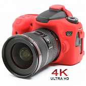 HD 4K Ultra Camera : High Mega ZoomCam