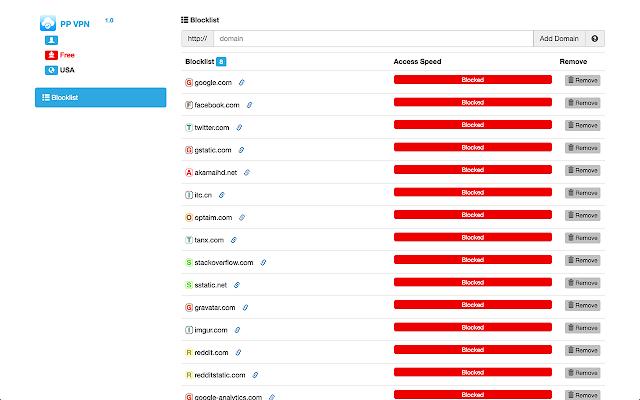 PP VPN Free-Unblock blocked sites Proxy