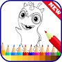 Coloring Book Slugterra Fans APK icon