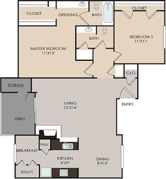 Go to B6 Floorplan page.
