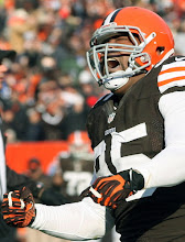 Photo: Juqua Parker celebrates the Browns' recovery of a fumble. (Chuck Crow, The Plain Dealer)