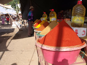 Photo: Colourful spices.