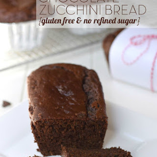 Chocolate Zucchini Bread {gluten free & no refined sugar}