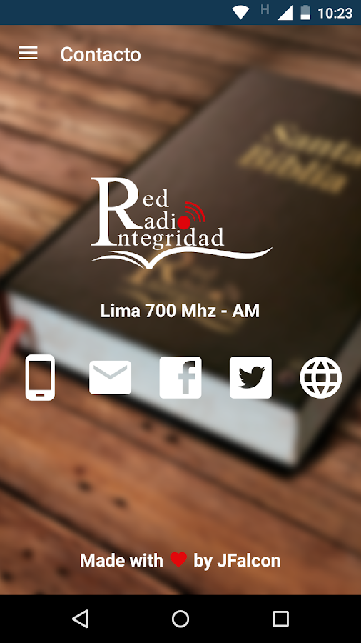 Red Radio Integridad- screenshot