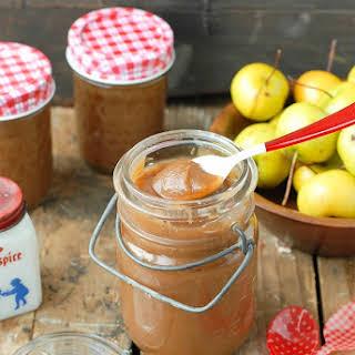 Slow Cooker Pennsylvania Dutch Spiced Apple Butter.