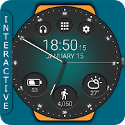 Black Classic Watch Face