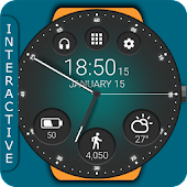 Unduh Black Classic Watch Face Gratis