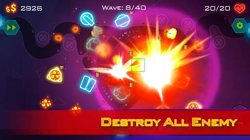 免費下載策略APP|Tower Defense: Geometry War app開箱文|APP開箱王