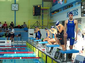 Photo: 800 NL : 6 nageuses Angers Nat. : Marie, Lola, Coline, Emma, Léa et Mila