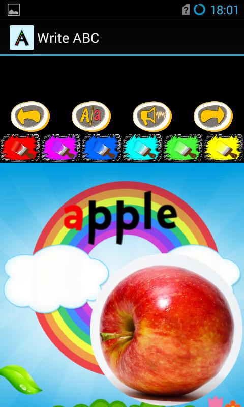 Write ABC - seven languages- screenshot