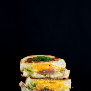 The Seared Tuna Melt Grilled Cheese