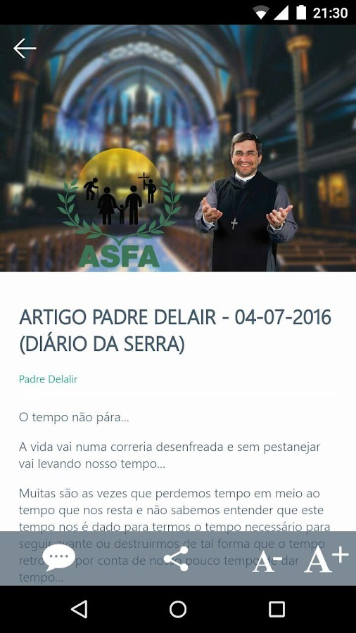 ASFA Oficial- screenshot