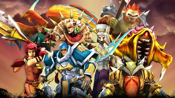 Legendary Heroes MOBA screenshot 01