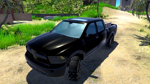 Télécharger 4x4 Off-Road Truck Simulator: Tropical Cargo APK MOD (Astuce) screenshots 4