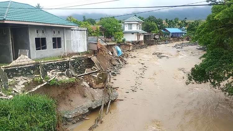A general view shows the aftermath of a flood in Sentani, Papua province, Indonesia March 17, 2019, Picture: EDWARD HEHAREUW / REUTERS