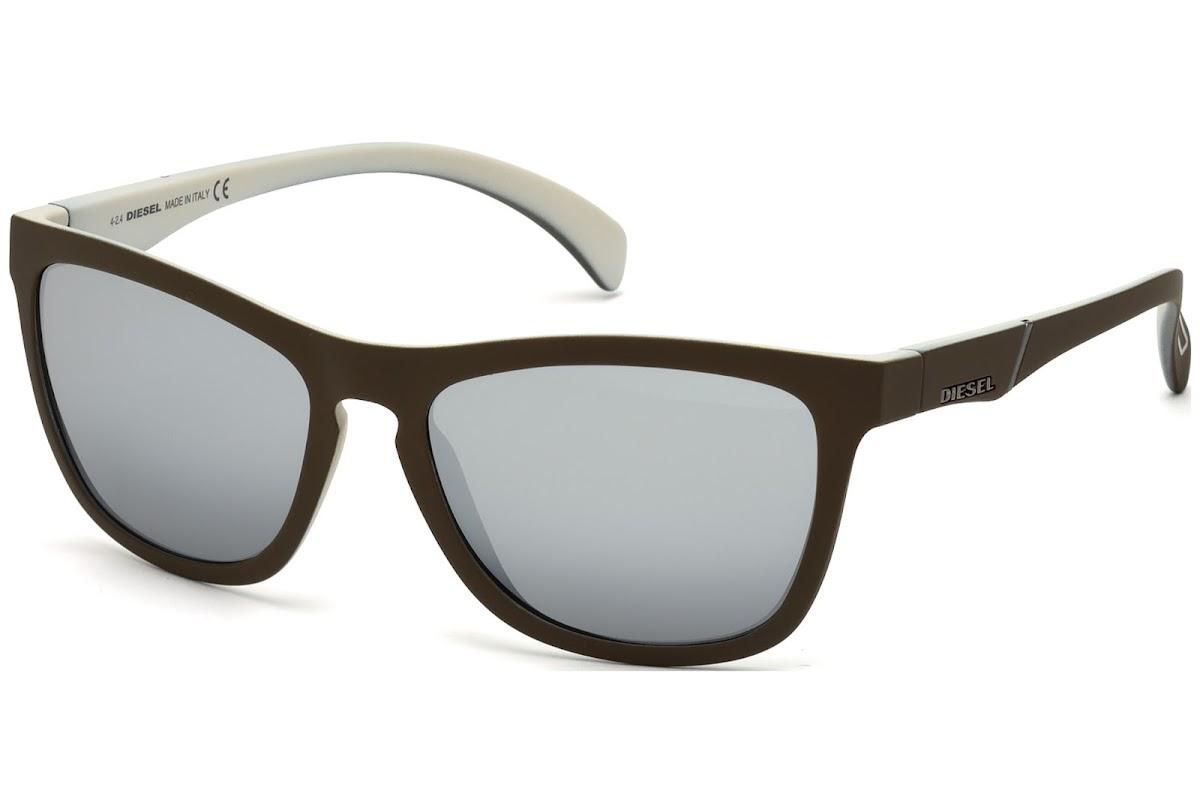 Comprar Gafas de sol Diesel DL0171 C56 98C (dark green other   smoke mirror)    opti.fashion e69242fb0e