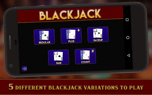 Casino Blackjack (5 Games)-21 1.0 Mod screenshots 1