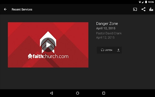 FaithChurch.com- screenshot thumbnail