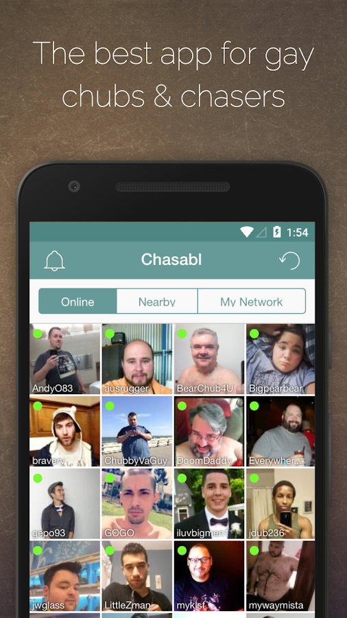 CHASABL: Gay Chubs & Chasers- screenshot