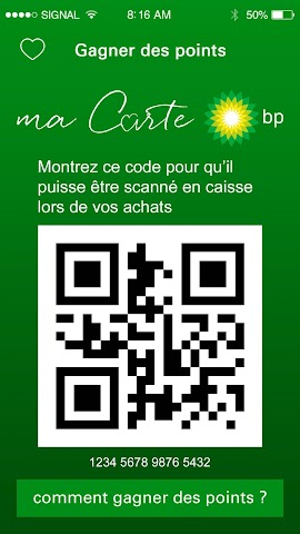 android ma Carte BP Screenshot 1