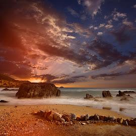 Masua  by Franco Salis - Landscapes Sunsets & Sunrises