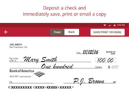Bank of America Mobile Banking Screenshot 10