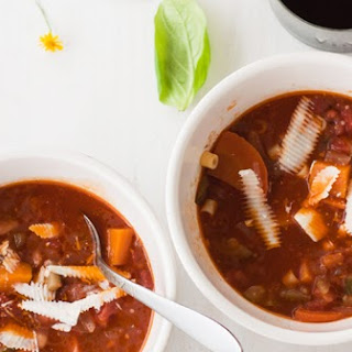 Red Wine Butternut Squash Minestrone