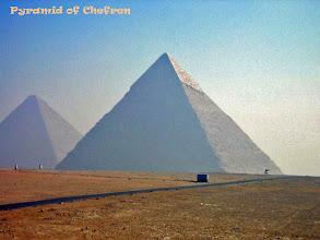 Photo: De Piramide van Chefren, tweede grootste