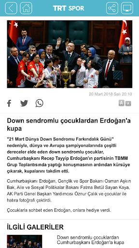 TRT Spor screenshot 2