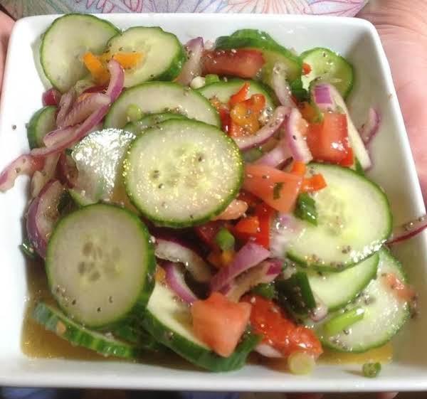 Mini Cucumber Caterpillars Recipe: English Cucumber Salad Recipe