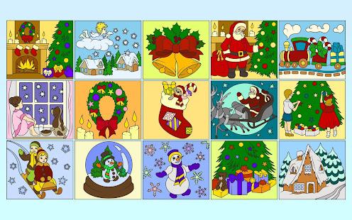 Рисуй по номерам - Рождество_1