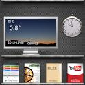 Book theme (gray ver) icon