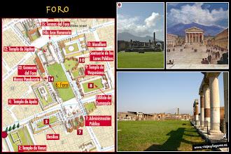 Photo: 9: El <b>Foro</b> es del siglo II a.C. tenía templos, edificios imperiales, estatuas honorariae, una tarima para oradores, vendedores ambulantes y hombres negociando bajo sus pórticos... era el centro cívico y el corazón de la vida comercial de Pompeya.
